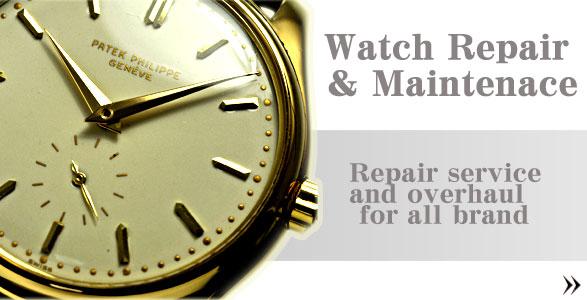 時計修理とオーバーホール